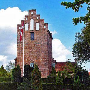 Svogerslev - Image: Svogerslev kirke (Roskilde)