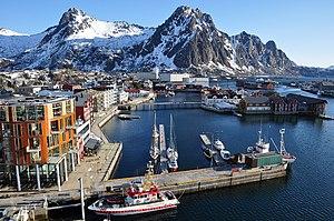Svolvær - View of the village