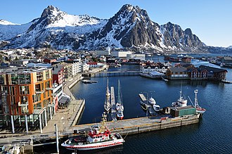 Svolvær - View of the town