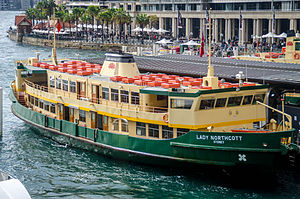 Harbour City Ferries - Image: Sydney Ferry Lady Northcott