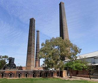 St Peters, New South Wales - Former brickworks, Sydney Park