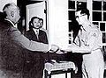 Syngman Rhee and Chung Il-kwon in Korean War.jpg