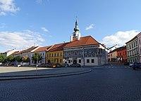 Třebíč, Karlovo náměstí, Hasskova, Malovaný dům.jpg