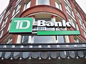 TD Bank branch in Chinatown in Washington, D.C...