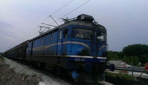 TPP Nikola Tesla - Class 441 electric locomotive of TPP Nikola Tesla.