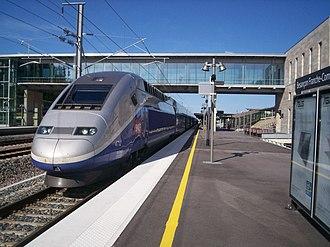 Gare de Besançon Franche-Comté TGV - Besançon Franche-Comté TGV railway station
