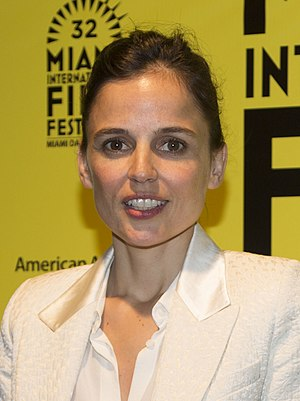 Elena Anaya - Anaya at the 2015 Miami International Film Festival presentation of Todos están muertos