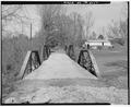 THROUGH VIEW, LOOKING WEST. - Lea Bridge, Spanning Candies Creek at Old Georgetown Road, Hopewell, Bradley County, TN HAER TENN,6-HOPE.V,1-10.tif