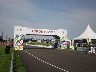 Morningside, Toronto - View of Morningside during the 2015 Pan Am Games