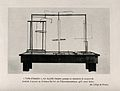 Table with devices that demonstrate electrodynamic laws devi Wellcome V0018959.jpg