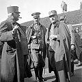 Tableau, men, uniform, First World War, smoking, weapon Fortepan 5228.jpg