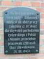 Tablica pamiątkowa obozu pracy 1941-1943 na linii Swarzędz-Antoninek.jpg