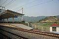 Taimushan Railway Station platform, 2014-06 01.jpg