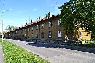 Põhja-Tallinn - Image: Tallinn, Balti Puuvillavabriku tööliselamu Sitsi 9, 1901 1905 (2)