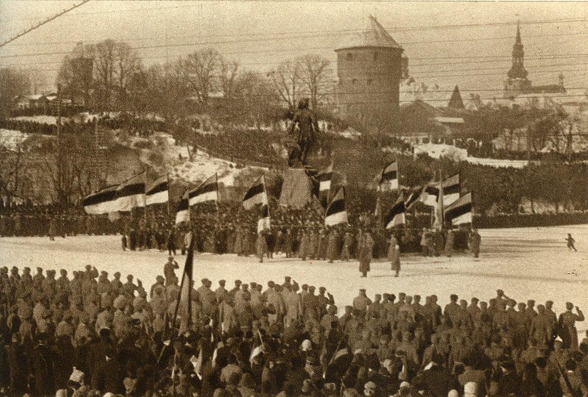 Resultat d'imatges de independencia de estonia
