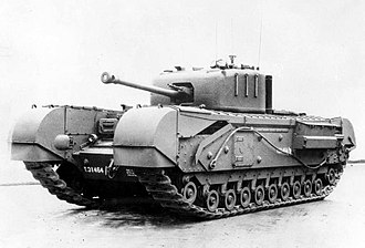 Churchill tank - Churchill Mark IV with a 75mm gun