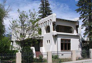 Nicolai Fechin House - Exterior of Fechin House museum