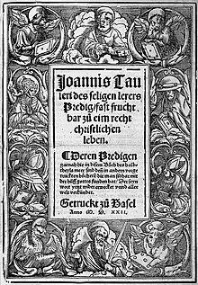 JOHANNES TAULER PREDIGT EBOOK DOWNLOAD