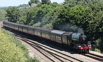 Taunton East - 60103 Catherderals Express returning to Bishops Lydeard.JPG