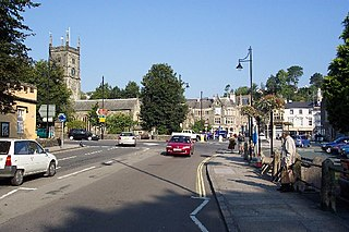 Tavistock town in Devon, England