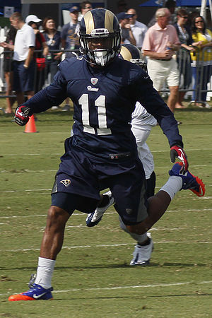 Tavon Austin - Austin with the St. Louis Rams in 2013