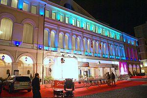 Teatro Calderón, Valladolid - Image: Teatro Calderón durante la clausura de la Seminci 2008