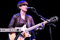 Tegan and Sara @ NIB Stadium (4 12 2010) (5252473573).jpg