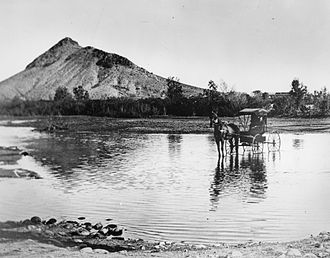 Tempe, Arizona - Tempe between 1870 and 1880.