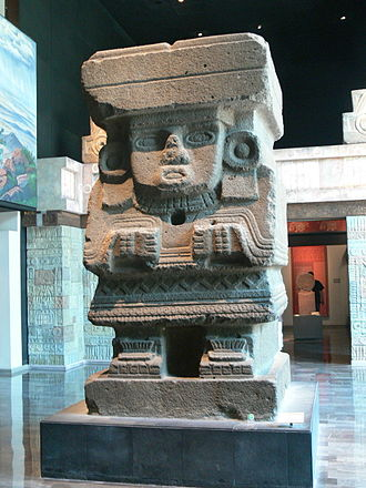 Great Goddess of Teotihuacan - This statue is generally identified as the Great Goddess, and formerly stood near the base of the Pyramid of the Moon.