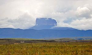 Ptari-tepui - Ptari-tepui viewed from the east