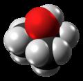 Tert-Butanol molecule spacefill from xtal.png