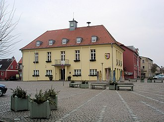 Tessin, Germany - Tessin Town hall