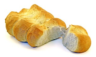 Pane ticinese white bread traditionally made in the Swiss canton of Ticino