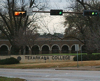 Texarkana College - Southwest corner of Texarkana College campus