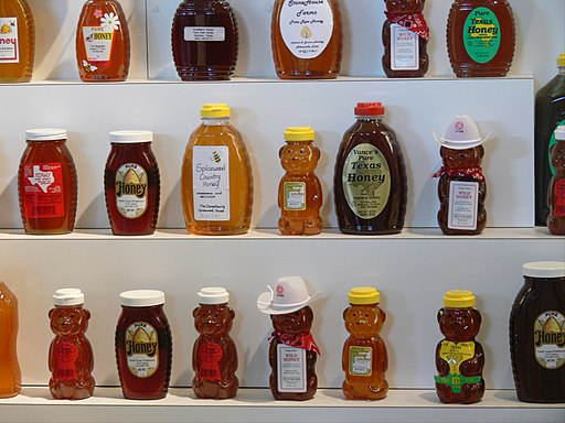 Texas State Fair honey