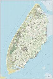 Karte Texel.Texel Wikipedia