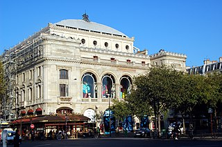 theatre and opera house, located in the place du Châtelet in the 1st arrondissement of Paris, France