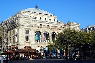 Théâtre du Châtelet - Image: Théâtre du Châtelet, October 2008