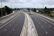 The A494 Heading towards Queensferry 3062557 9203c9d5.jpg