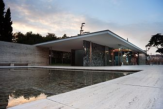 Beau The Barcelona Pavilion (modern Reconstruction) By Ludwig Mies Van Der Rohe  (1929)