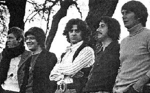 The Beau Brummels -  The Beau Brummels in 1974. From left: John Petersen, Ron Elliott, Sal Valentino, Ron Meagher, Declan Mulligan.