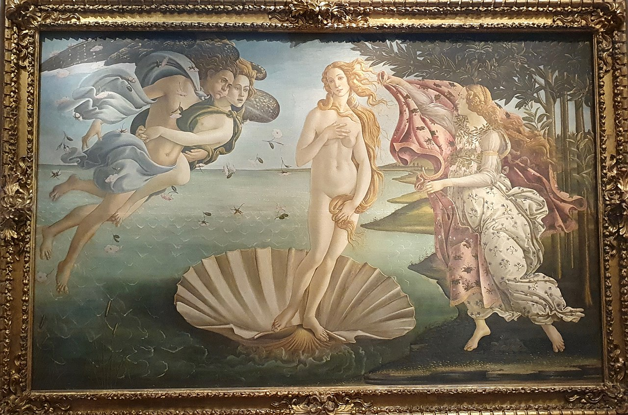 File:The Birth of Venus by Sandro Botticelli-Uffizi.jpg - Wikimedia Commons