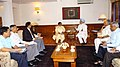 The Chief Minister of Uttar Pradesh, Ms. Mayawati meeting with the Prime Minister, Dr. Manmohan Singh, in New Delhi on May 26, 2007.jpg