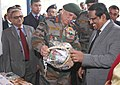 The Chief of Army Staff, General Bipin Rawat visiting after inaugurating the Exhibition on CBRN Defence Technologies to showcase products and technologies developed towards Chemical, Biological.jpg