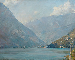 The first basin, Lake Como