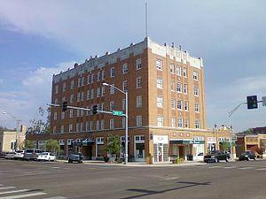Frederick, Oklahoma - Grand Hotel in 2012