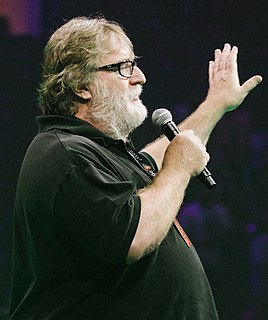Gabe Newell American businessman