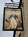 The King William Inn sign, Barn Street, Crewkerne - geograph.org.uk - 1138377.jpg