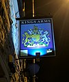 The Kings Arms, Ratcliffe Gate, Mansfield (Pub Sign) (2).jpg