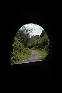 The Landcross Tunnel on the Tarka Trail - geograph.org.uk - 414060.jpg
